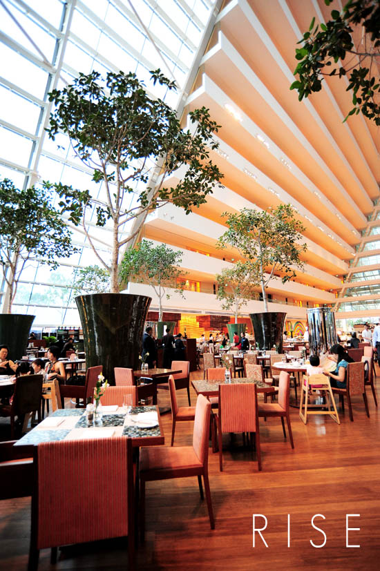 Rise Restaurant Marina Bay Sands