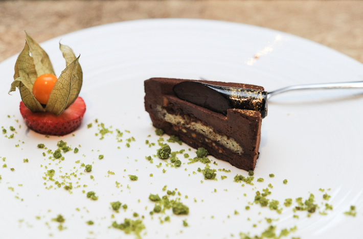 Royaltine Chocolate Cake