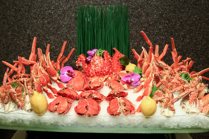 Plaza Brasserie Crab Buffet