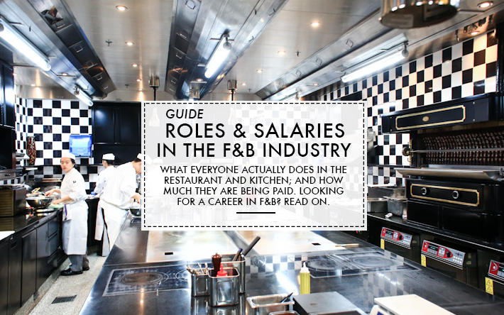 F&B Industry Roles & Salary