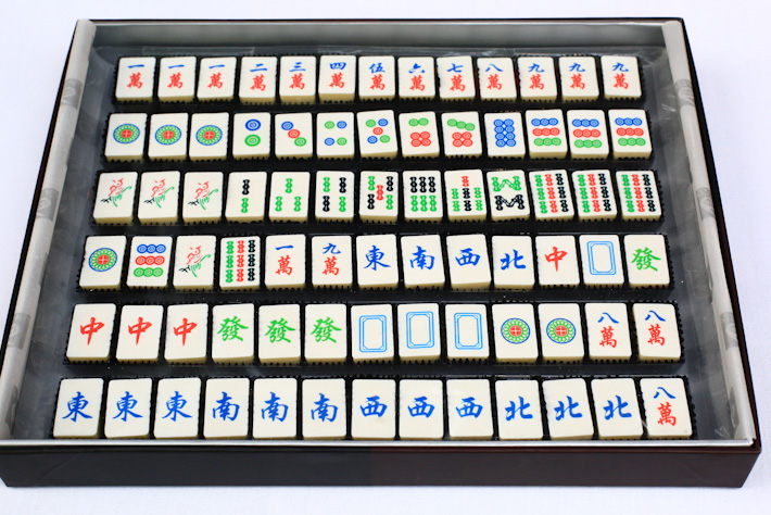 Mahjong Chocolate